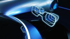 Mercedes-Benz EQ Courier concept '19 external MMI design #mercedesconcept #eqcourier #eqconcept #mercedesdesign #electric #eq Mercedes Benz, Tubeless Tyre, Bmw I, Automotive Design, Concept