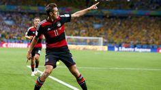 Das Ziel ist klar. Miroslav Klose will mit Deutschland jetzt endlich den Titel. WM 2014