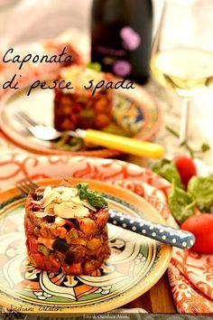 Buongiorno, oggi torniamo in Sicilia e prepariamo la caponata di pesce spada: potete servirla come antipasto, ma anche come secondo piatto (robusto) insieme a una insalata. La preparate con un gior…