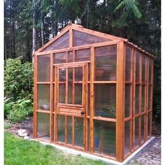 Little Cottage Company Colonial Gable 8 Ft. W x 12 Ft. D Hobby Greenhouse Greenhouse Frame, Greenhouse Farming, Walk In Greenhouse, Greenhouse Effect, Backyard Greenhouse, Greenhouse Plans, Homemade Greenhouse, Greenhouse Gases, Polycarbonate Greenhouse