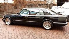 Mercedes-Benz. Such a beautiful classic car.