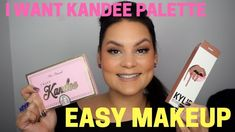 I Want Kandee Palette Easy Makeup Tutorial | Melissa Chee