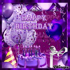 Purple Happy Birthday Quotes. QuotesGram by @quotesgram
