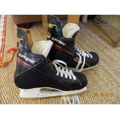 Bauer 944 Supreme Men's Ice Hockey Skates Size 8.5 - $40. Donated to Maccabi USA.