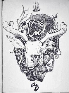 Sketchbook I by Kürşat Kemal Kul, via Behance