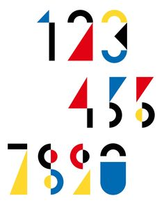 Avant-Garde Numbers @ellotypography @ellodesign #graphicdesign #design…