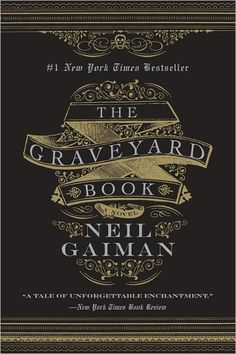 The Graveyard Book - Neil Gaiman (design by Gregg Kulick).