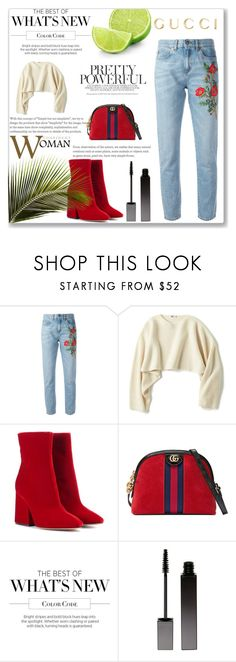 """""""like"""" by betty-hs ❤ liked on Polyvore featuring Gucci, Uniqlo, Maison Margiela, Martha Stewart and Serge Lutens"""