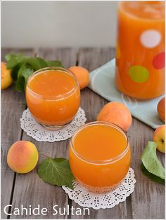 Homemade apricot juice - World Cuisine Summer Food Kids, Summer Drinks Kids, Healthy Summer, Healthy Eating Tips, Healthy Drinks, Healthy Nutrition, Healthy Recipes, Infused Water Recipes, Vegetable Drinks