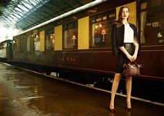 Ted Baker AW13. LODI jacket, BAKULA knit, BEBU leather skirt, SERIAH leopard print bag, NEEVO shoes!