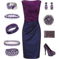 Perfectly Plum, Navy and Eggplant Formal.