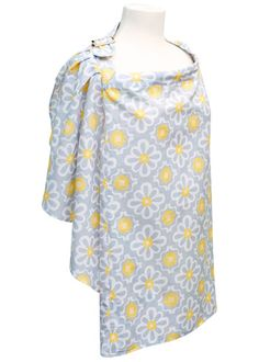 JJ Cole nursing cover. *Thought of you, @Rachel Fee, when I ordered it. Perfect colors for any outing.
