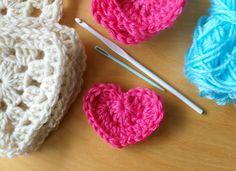 Crochet heart- Corazón crochet