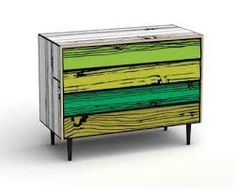 Cartoon painted dresser