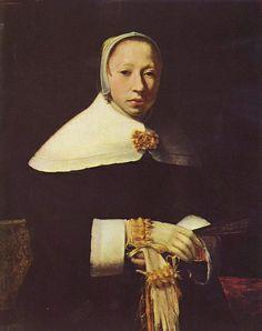 Jan Vermeer van Delft, Woman's Portrait