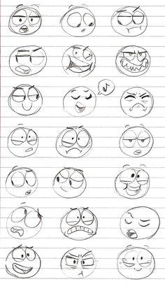AnatoRef | Facial Expressions Top Image Row 2 & 3 Row 4 Row...