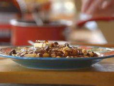 Get Chocolate Chip Hazelnut Pancakes Recipe from Food Network