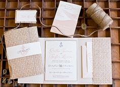 Beach Wedding Invitation, Southern Fried Paper Blog | Custom Invitations and Event Branding
