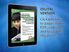Book Trailer for Laura Candler's Graphic Organizers for Reading: Teaching Tools Aligned with the Common Core