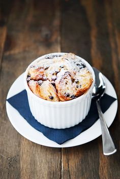 huckleberry bread pudding recipe | use real butter