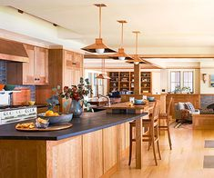 Kitchen Woodwork ... nice!