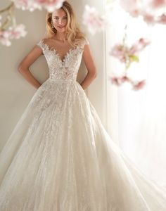 Sacramento's Premier Bridal Salon -- Offering a unique selection of Designer Wedding Gowns, and unparalleled customer service. Lace Wedding Dress, Dream Wedding Dresses, Bridal Dresses, Lace Ball Gowns, Disney Princess Dresses, Designer Wedding Gowns, Bridal Designers, Wedding Dress Pictures, Wedding Dress Accessories