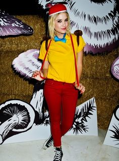 Popsugar disney costume diy feature costumes princess and box alice in wonderland tweedle dee costume me and mestel mestel schmerr could do this solutioingenieria Image collections