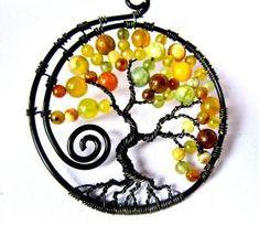 Tree of Life Pendant by bridgette.jons