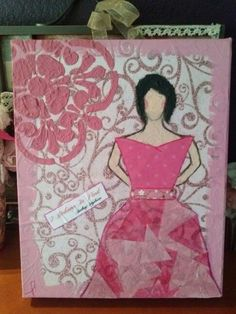 Pink Ribbon girl inspired by Christy Tomlinson.