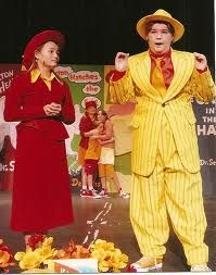 Mr. & Mrs. Mayor in Seussical the Musical presented by Riverside Youth Theatre.