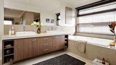 Bathroom in Barwon MK2 by Carlisle Homes