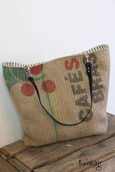Etsy Transaction - Eco- Friendly Burlap Coffee Sack- Classic Tote