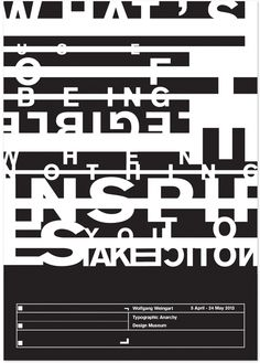 Ben Gatehouse, Wolfgang Weingart Poster Set Tribute by Ben Gatehouse, via Behance
