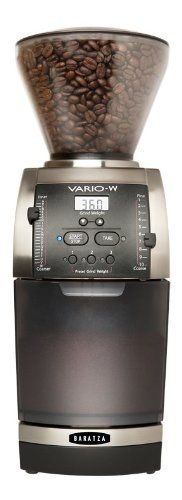 Baratza Vario-W Coffee Grinder - Baratza 985 - http://teacoffeestore.com/baratza-vario-w-coffee-grinder-baratza-985/