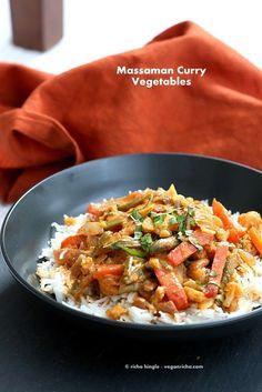 Massaman Curry Vegetables. Gluten-free Vegan Soy-free Recipe