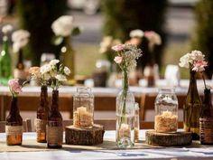 Bodas campestres: fotos ideas decoración - Ideas decoración estilo campestre boda