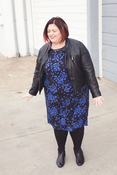 Love this tunic/dress from @annascholz - the print is scottie dogs! #plussize
