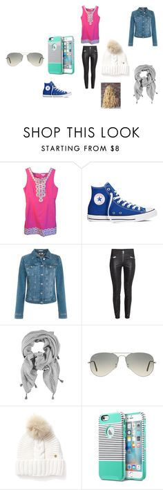 """""""The school dream"""" by tanikka-harris on Polyvore featuring Lilly Pulitzer, Converse, Tommy Hilfiger, Ray-Ban, Woolrich, women's clothing, women, female, woman and misses"""