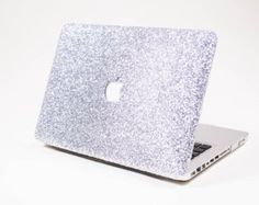 ROSE GOLD Glitter Macbook Hard Case for Macbook Air by EmbriShop
