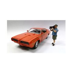 Camera Man Norman Figure For 1:24 Scale Diecast Car Models by American Diorama