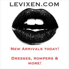 GO GO GO! New Arrivals Just In! ❤️  www.levixen.com   #womensclothing #shopping #fashion #love #trendy #style #outfits #model #summerfashion #sale #accessories #shorts #denim #sexy #sexydress #partydress #tbt