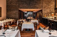 The Setai Grill. Quiet intimacy in Miami Beach at The Setai Hotel. By Hotelied.