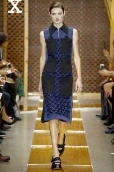 Sportmax Spring 2016 Ready-to-Wear Fashion Show - Olivia Jansing