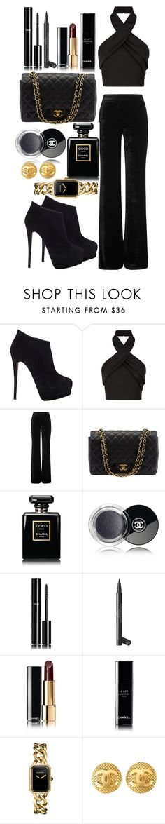 """Outfit #155"" by sofi6277 ❤ liked on Polyvore featuring Giuseppe Zanotti, Finders Keepers, Emilio Pucci, Chanel, women's clothing, women's fashion, women, female, woman and misses"
