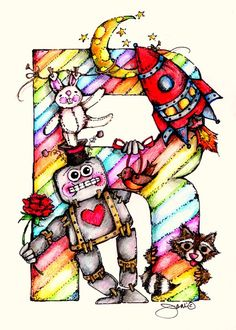 R is for Robot | Flickr - Photo Sharing!