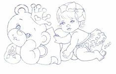 Baby Art Crafts, Arts And Crafts, Little Girls, Diapers, Colouring In, Xmas, Party, Drawings, Art And Craft