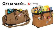 Carhartt® Signature Work Bags from AAAdvertising.com Work Bags, Product Ideas, Carhartt, Work Tote Bags