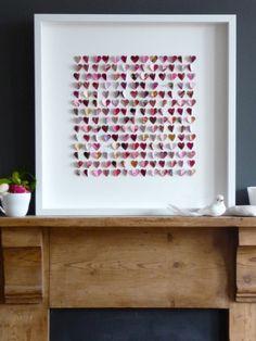 Framed Heart Pictures For Valentine's Day Shelterness   Shelterness