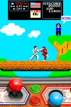 Karate Champ on iPhone or iPad. 1 or 2 players epic old school fun! Classic Video Games, Retro Video Games, School Fun, Old School, Easy Video, Ipad 1, Self Defense, Pinball, Back In The Day
