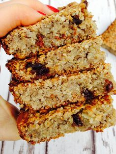 Simple and clean flapjack - Hedi Hearts